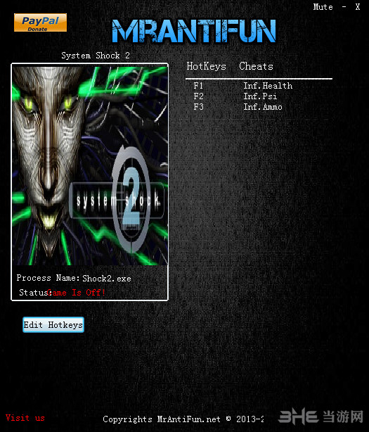 网络奇兵2三项修改器 V2.45截图0