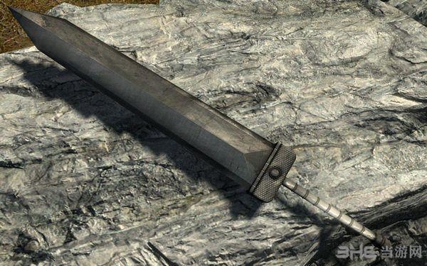 上古卷轴5天际重型巨剑MOD截图1