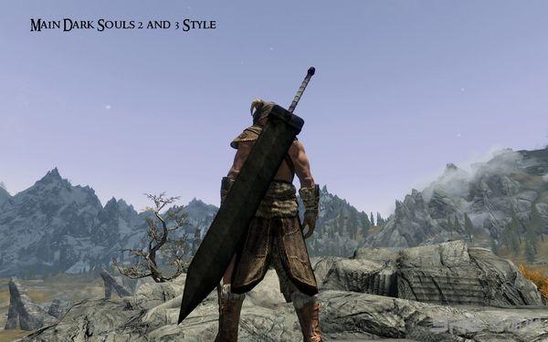 上古卷轴5天际重型巨剑MOD截图2