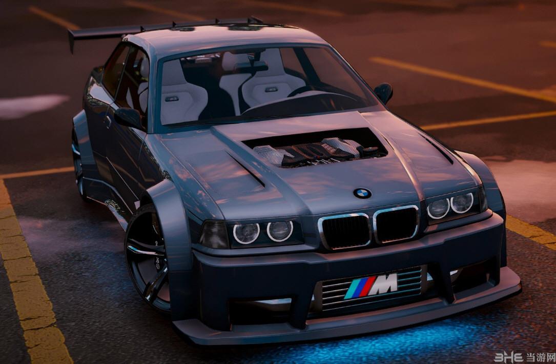 侠盗猎车5宝马M3 E36 V8双涡轮增压版新增式MOD截图0