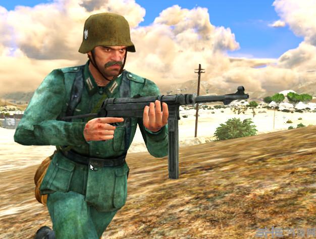 侠盗猎车5 MP40冲锋枪(替换式)MOD截图0