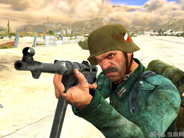 侠盗猎车5 MP40冲锋枪(替换式)MOD截图1