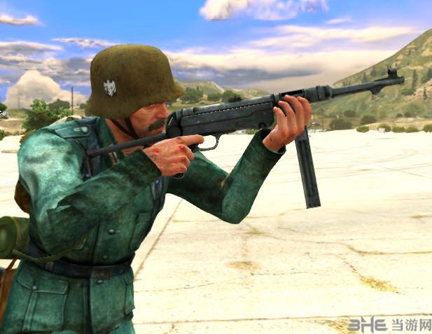 侠盗猎车5 MP40冲锋枪(替换式)MOD截图2