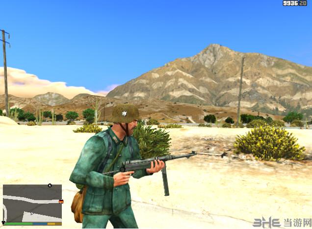 侠盗猎车5 MP40冲锋枪(替换式)MOD截图3
