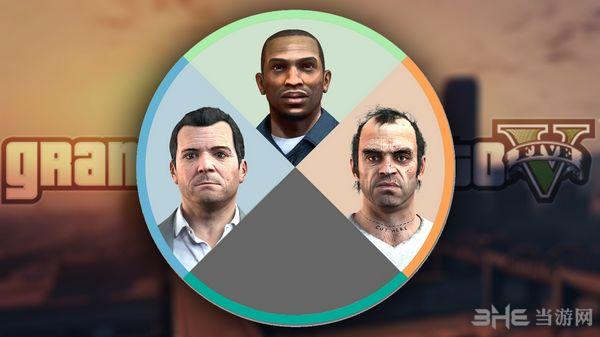 侠盗猎车手5玩家选择转盘MOD截图0