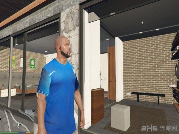 侠盗猎车手5巴西足球队球衣MOD截图0