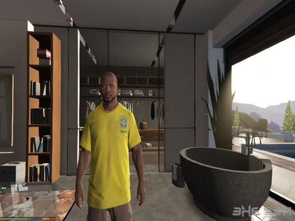 侠盗猎车手5巴西足球队球衣MOD截图2