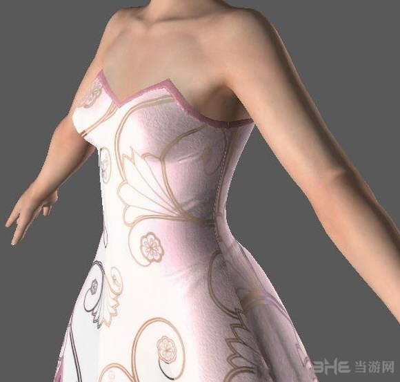 死或生5:最后一战玛莉粉红纱裙MOD截图0
