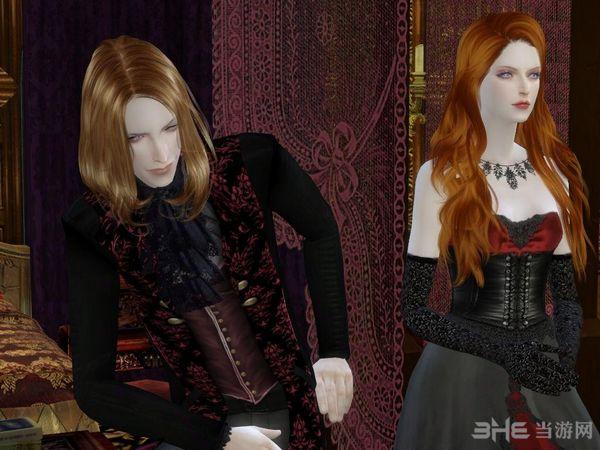模拟人生4吸血鬼夫妻MOD截图0
