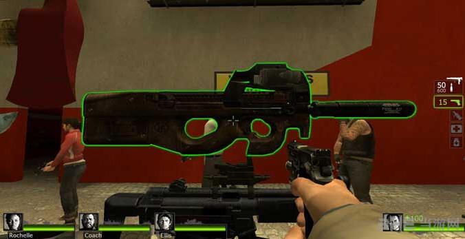求生之路2 P90冲锋枪MOD截图2