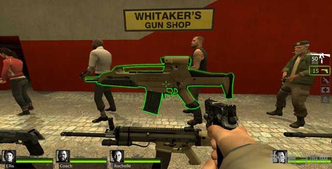 求生之路2 Xm8突击步枪模型MOD截图2