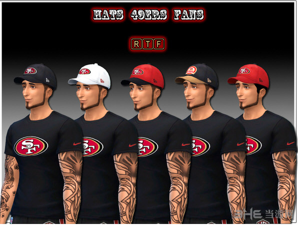 模拟人生4红白棒球帽子MOD截图0