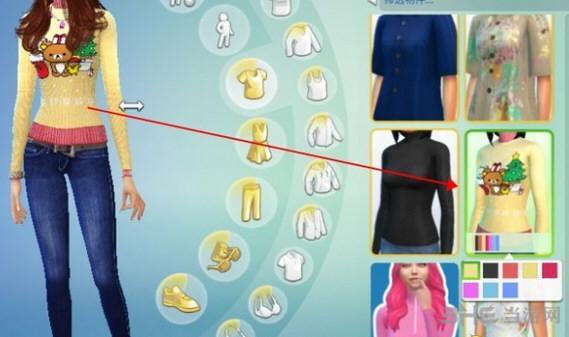 模拟人生4可爱毛线服装MOD截图1