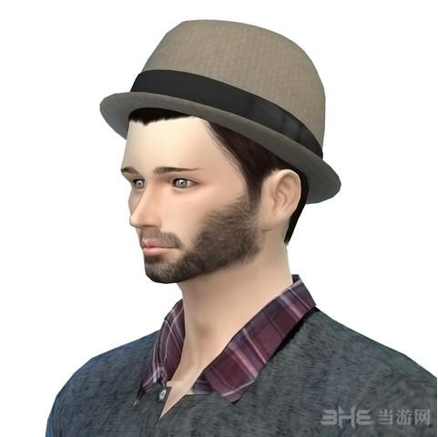 模拟人生4咖啡色绅士帽MOD截图0