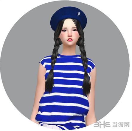 模拟人生4 45色洋装女帽MOD截图0