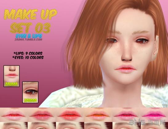 模拟人生4唇彩+美瞳MOD截图0