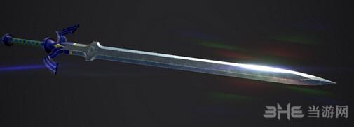 上古卷轴5天际重制版塞尔达大师剑MOD截图0
