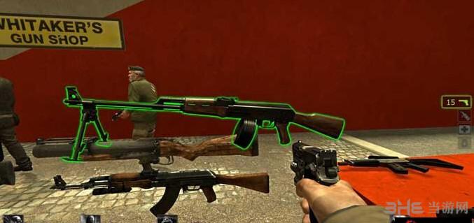 求生之路2卡拉什尼科夫轻机枪MOD截图1
