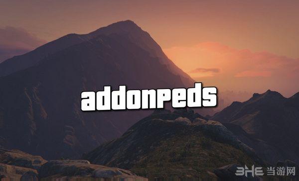 侠盗猎车手5 Addon Peds插件工具截图0