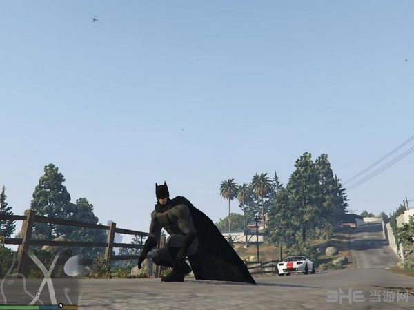 侠盗猎车手5超人大战蝙蝠侠MOD截图1