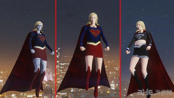 侠盗猎车手5女版超人MOD截图0
