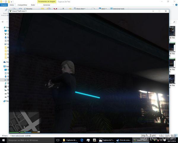 侠盗猎车手5星球大战光剑MOD截图3