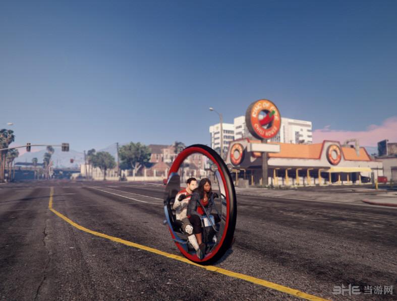侠盗猎车5单轮摩托车Monowheel MOD截图0