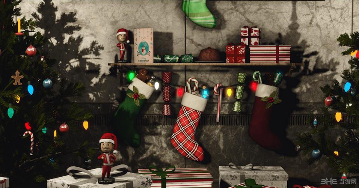 辐射4圣诞节主题城市美化MOD截图0