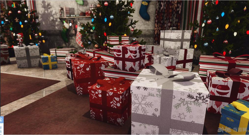 辐射4圣诞节主题城市美化MOD截图4