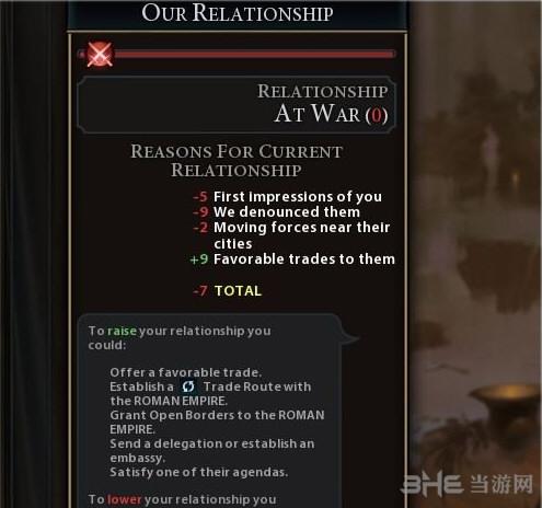文明6v1.0.0.56显示外交关系总和MOD截图2