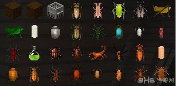 我的世界1.10.2可食用的昆虫MOD截图2