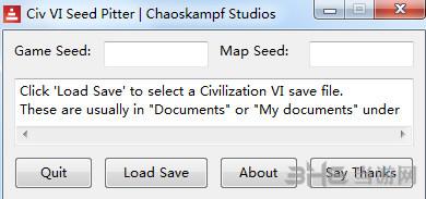 文明6v1.0.0.38地图种子读取器截图0