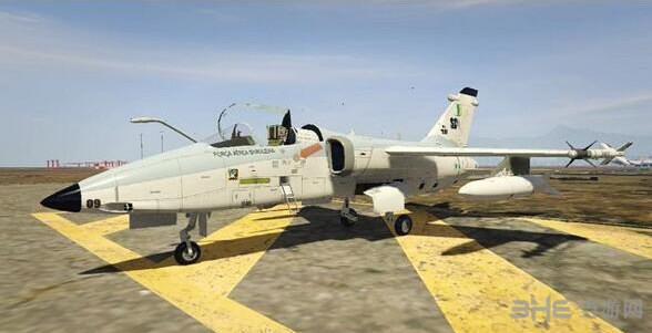 侠盗猎车手5Embraer A-1型AMX攻击机MOD截图0