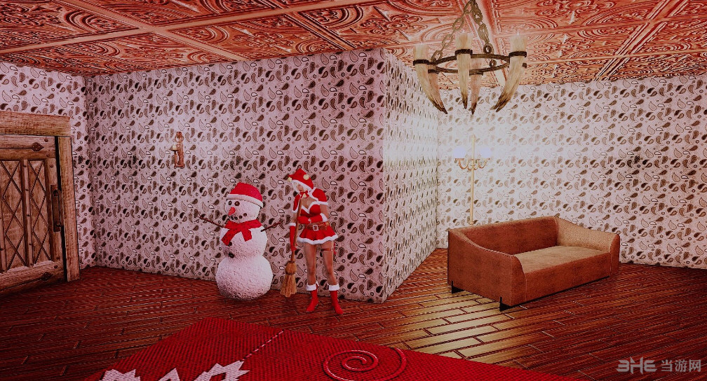 上古卷轴5天际重制版圣诞小屋MOD截图0