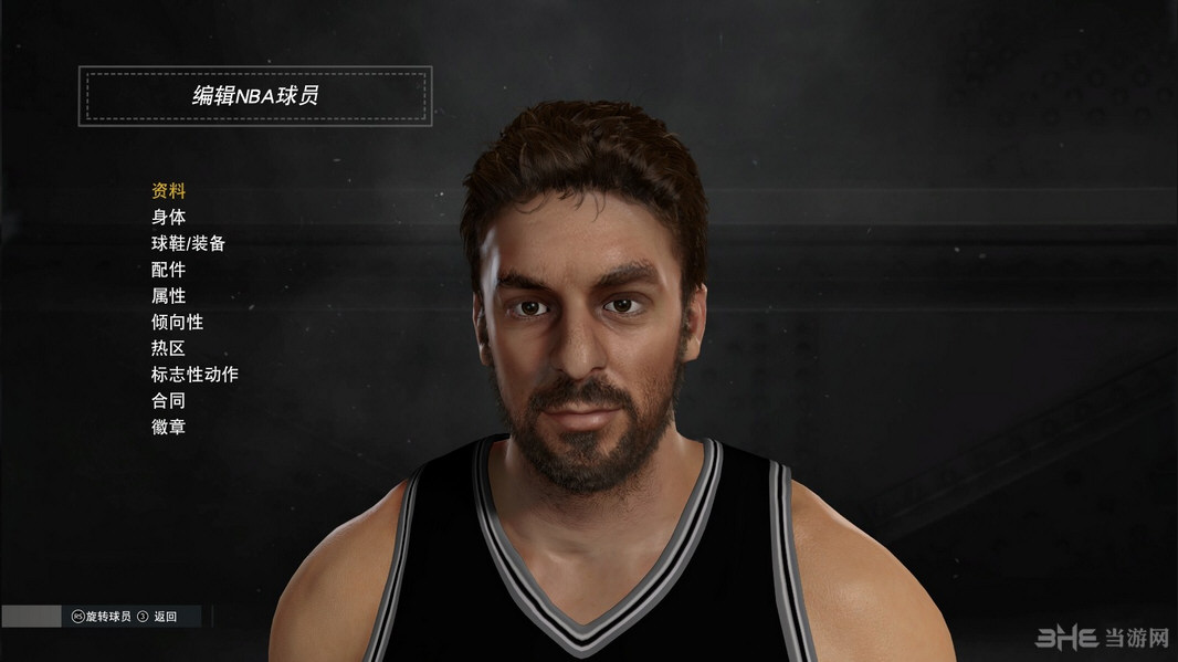 NBA2K17保罗・加索尔面补MOD截图0