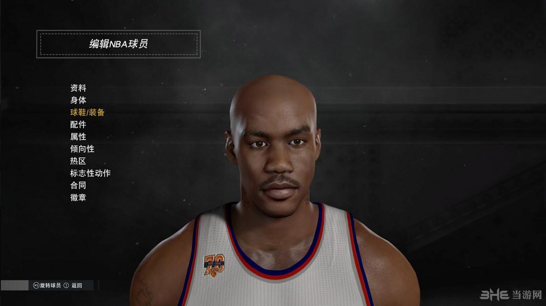NBA2K17斯蒂芬・马布里面补MOD截图0