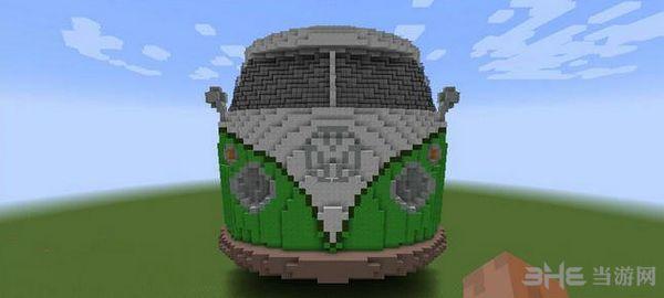 我的世界1.7.10大众面包车1代地图MOD截图2