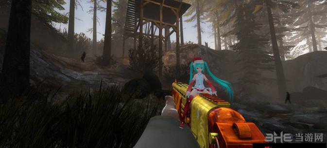 求生之路2圣诞版初音SPAS12散弹枪MOD截图2