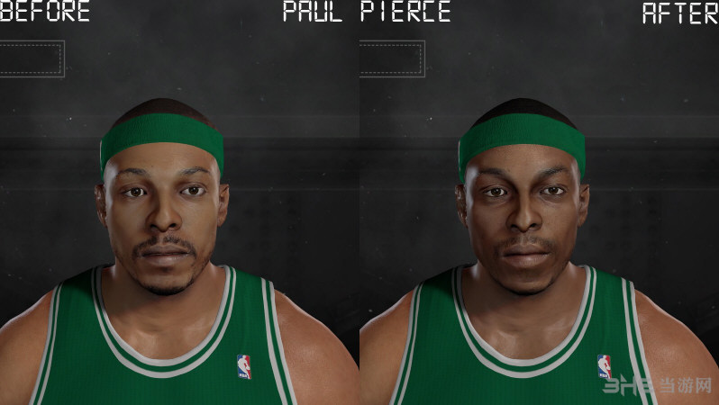 NBA 2K17皮尔斯面补MOD截图0