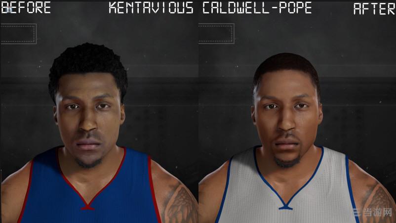 NBA 2K17卡德维尔面补MOD截图0