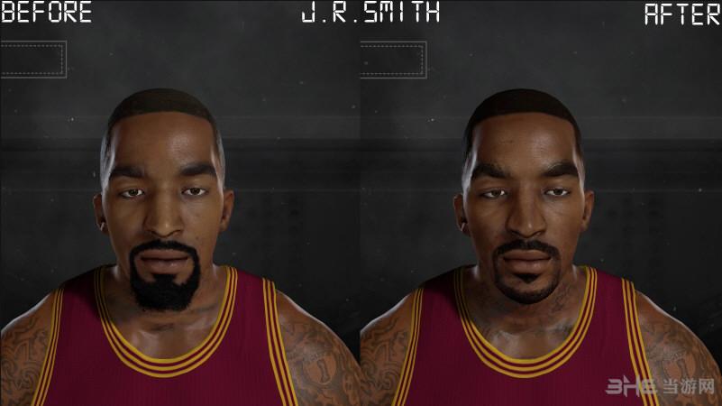 NBA 2K17 JR史密斯面补MOD截图0