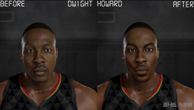 NBA 2K17霍华德面补MOD截图0