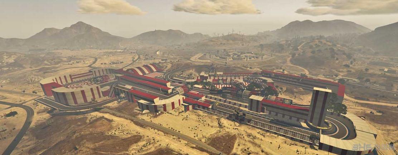 侠盗猎车5格兰瑟罗纳沙漠机场赛道MOD截图0