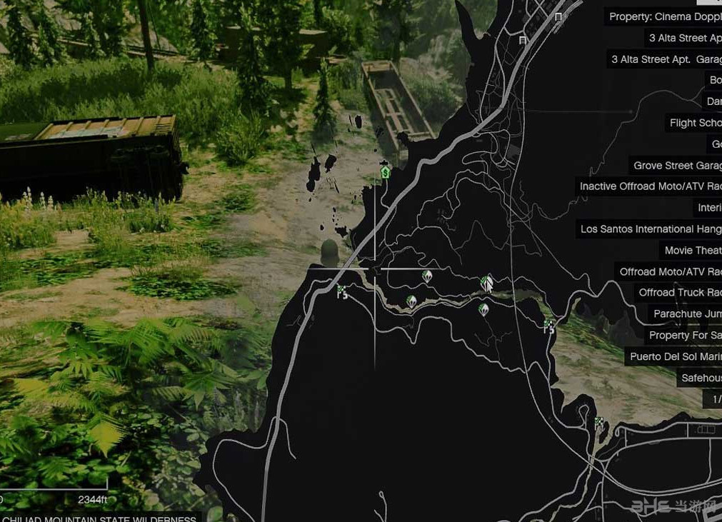 侠盗猎车5废弃的火车山道MOD截图2