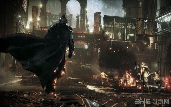 蝙蝠侠:阿甘骑士天邈汉化组汉化补丁截图1