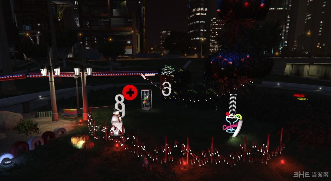 侠盗猎车5带喷泉圣诞灯MOD截图4