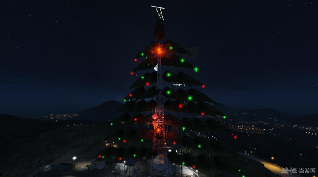 侠盗猎车5带喷泉圣诞灯MOD截图1