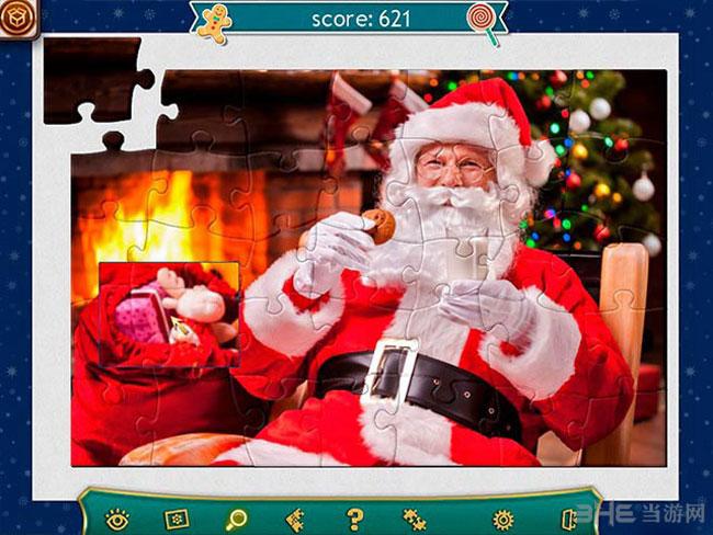 假日拼图:圣诞节4截图0