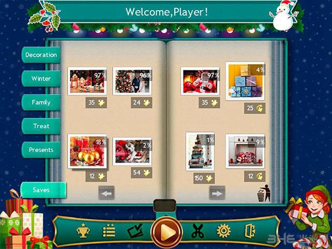 假日拼图:圣诞节4截图1