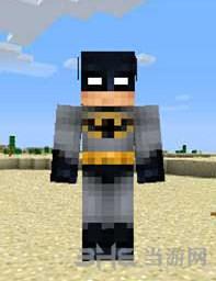 我的世界蝙蝠侠皮肤截图0